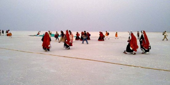 The Great and Little Rann of Kutch Gujarat  White Sand Rann of Kutch in India