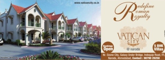 Vatican City Ahmedabad - 5 BHK Villas at Naroda Ahmedabad