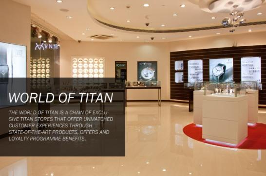 World of Titan Watches in Surat World of Titan Showrooms in Surat Gujarat