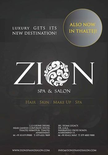 ZION Spa and Salon Ahmedabad - Beauty Services in Ahmedabad