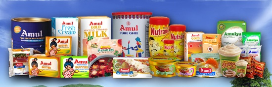 AMUL DAIRY ANAND Gujarat Products List of AMUL DAIRY ANAND