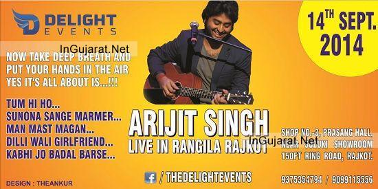 Arijit Singh in Dubai Arijit Singh in Rajkot Gujarat