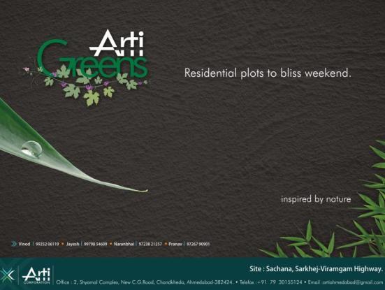 Arti Greens Ahmedabad