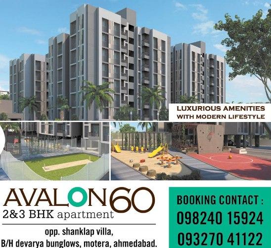 Avalon60 Apartments in Ahmedabad - 2 BHK  3 BHK Apartments at Motera Ahmedabad