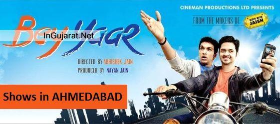 BEY YAAR Movie Show Timings in Ahmedabad - Shows for Bey Yaar Gujarati Film 2014 with Time Details