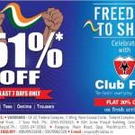 Club Fox in Vadodara – 51% OFF on SHIRT TEES DENIMS TROUSERS