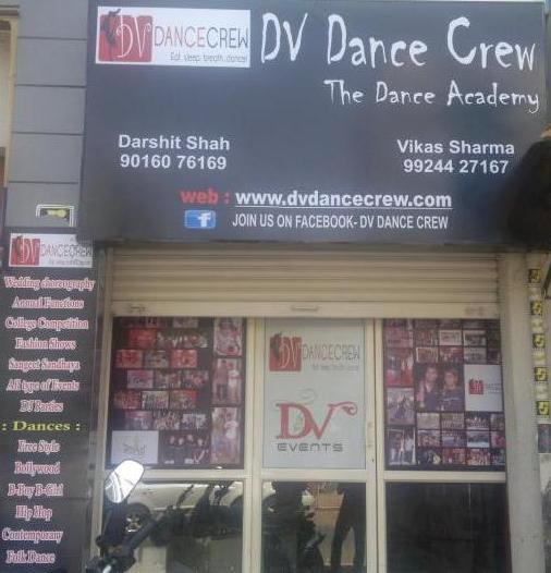 DV Dance Crew in Ahmedabad - Navratri Special Garba Batch