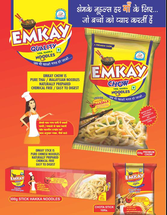 EMKAY Noodles Manufacturer in Gujarat - Varieties of Noodles at EMKAY Foods Packaging.png
