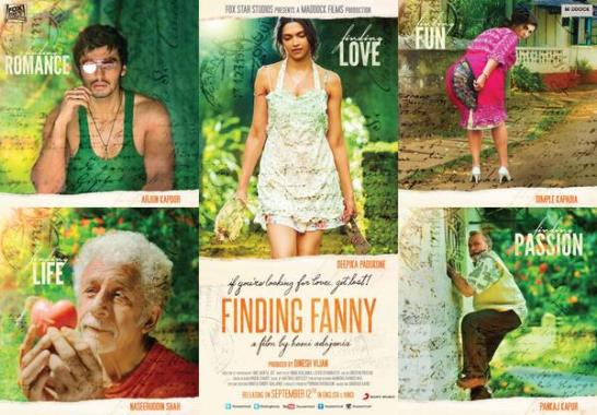 Finding Fanny Hindi Movie Release Date 2014