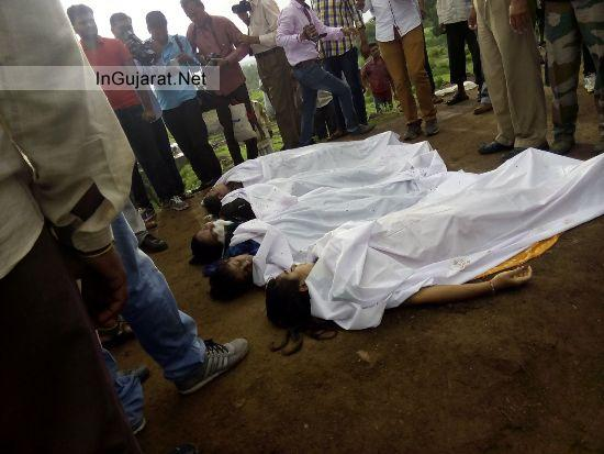 Four College Girls Died in Rajkot Latest August 2014 News
