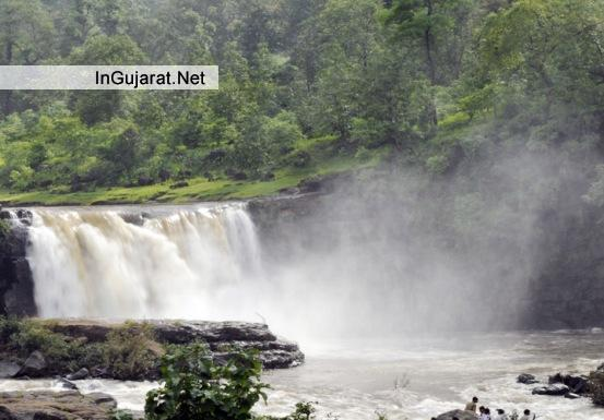 Gira Waterfalls in Saputara Gujarat - Gira Waterfalls on Ambika River in Dangs - Location