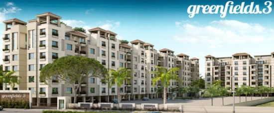 Greenfields 3 Vadodara - 2 BHK  3 BHK  4 BHK Branded Apartments by Fortune Lifespaces