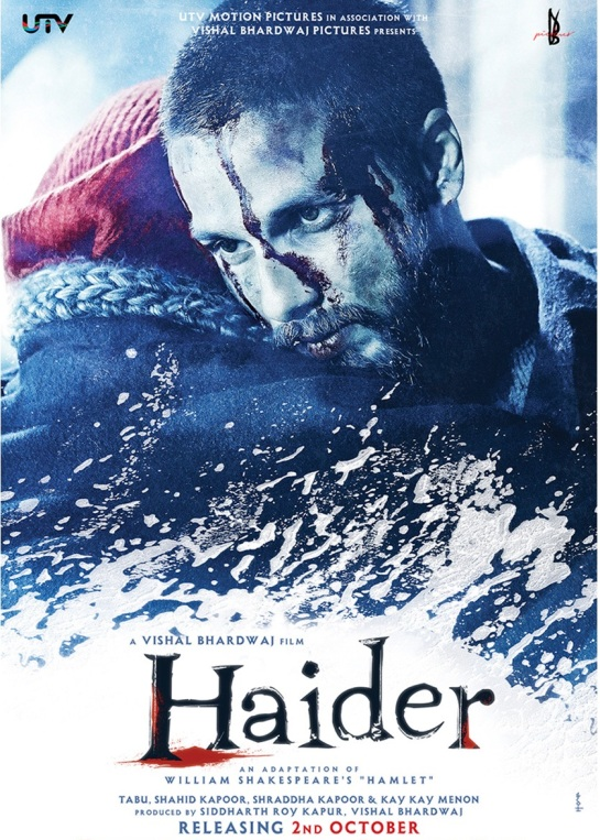 Haider Hindi Movie Release Date 2014