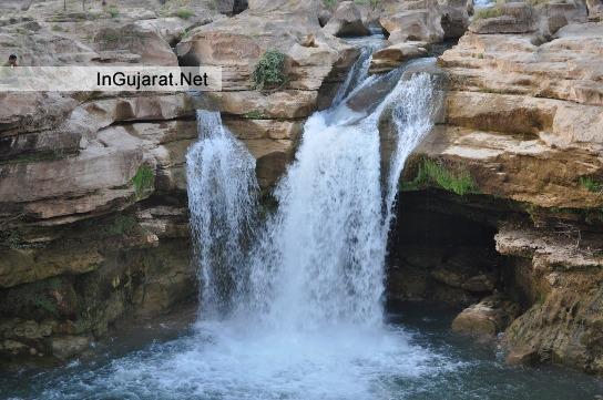 Jamvala waterfall Gir Gadhada in Junagadh Gujarat