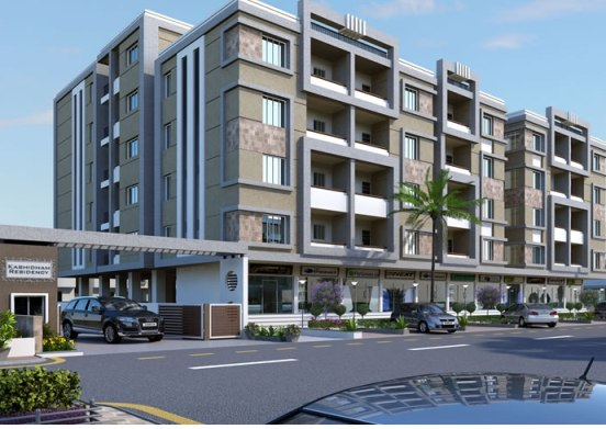 Kashidham Residency in Vadodara by Amar Group - 1 BHK & 2 BHK Flats  3 BHK Duplex  Shops