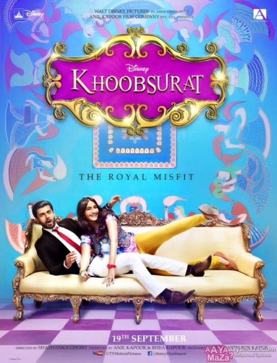 Khoobsurat Hindi Movie Release Date 2014