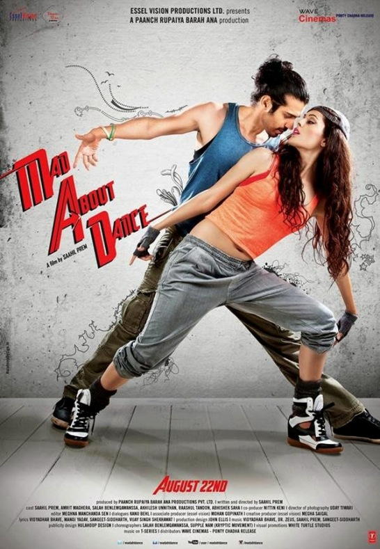 Mad About Dance Hindi Movie Release Date 2014