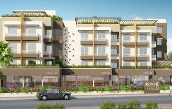 Olivine Heights Vadodara by P M Developers 3 BHK Flats at Ajwa Main Road Vadodara