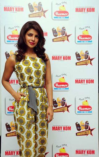 Priyanka Chopra in Ahmedabad for Plant Visit Havmor Ice Cream August 2014