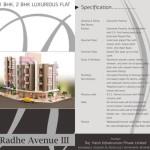 Radhe Avenue 3 Ahmedabad – 1 BHK / 2 BHK Luxurious Flats by Rajharsh Infrastructure Pvt Ltd