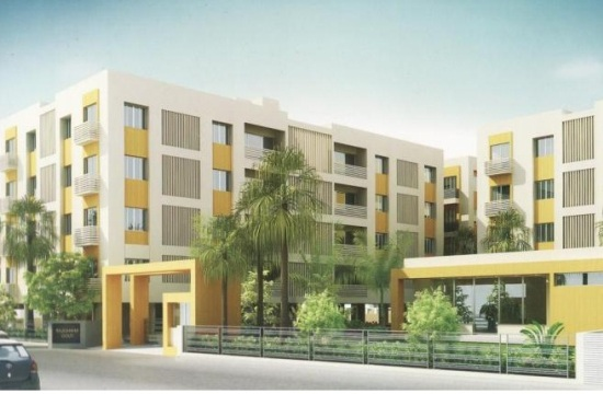 Rajeshwar Gold in Vadodara 2 BHK  3 BHK Flats at Harni Road Vadodara