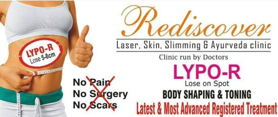 Rediscover Clinic in Ahmedabad  Special Limited Offer Valid Only Till 31st August 2014