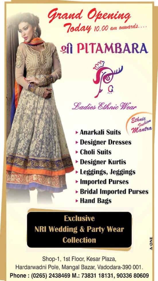 SHREE PITAMBARA Fashion in Vadodara Gujarat - Ladies Ethnic Wear Store at Vadodara.jpg