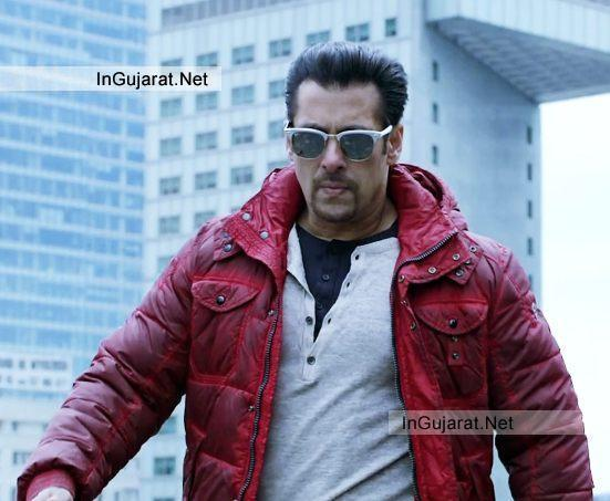 Salman Khan Jacket in Kick Movie - Latest Photos in Red Maroon Colour Jacket from KICK Film 2014