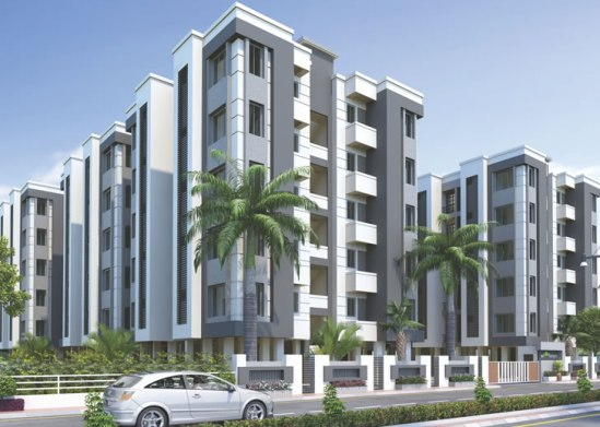 Satva Florence in Vadodara 1 BHK Luxurious Flats at Manjaipur Vadodara by Satva Group