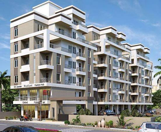 Shiv Kuber Heights in Vadodara - 2 BHK Flats  3 BHK Duplex Penthouse  Shops & Corporate Offices