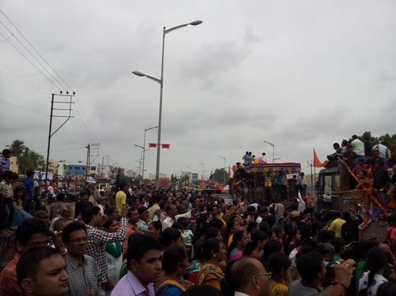 Shree Krishna Janmashtami Rath Yatra 2014