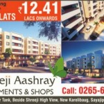 Shreeji Aashray in Vadodara – 2 BHK Apartments / Shops at Sayajipura Vadodara