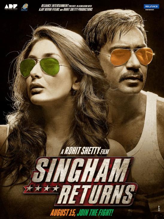 Singham Returns Hindi Movie Release Date 2014