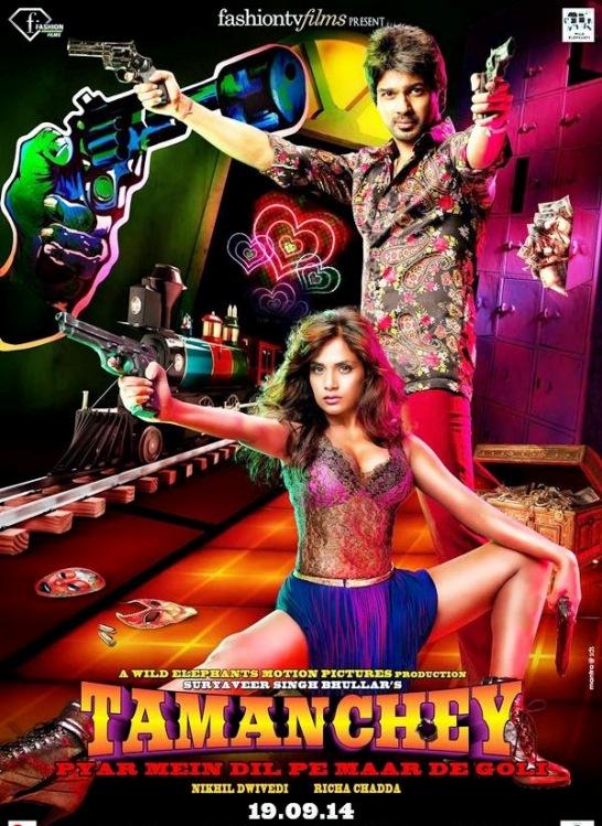 Tamanchey Hindi Movie Release Date 2014