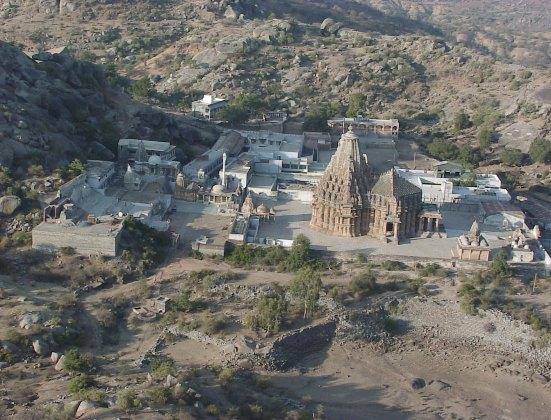 Taranga Hill Jain Temple in Mehsana Gujarat