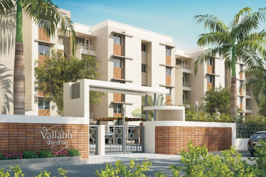 Vallabh Darshan in Vadodara by Vedant Group - 3 BHK Luxurious Flats at Vadsar Vadodara