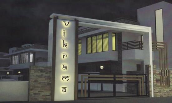 Vikrama Bungalows in Vadodara - 3 BHK  4 BHK Luxurious Duplex at Atladra Vadodara