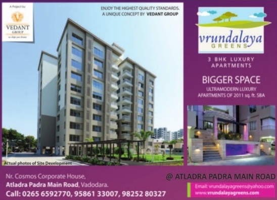 Vrundalaya Greens Vadodara by Vedant Group