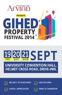 10th Edition GIHED Property Festival 2014