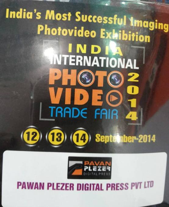 8th India International Photo Video Trade Fair 2014 in Ahmedabad on September