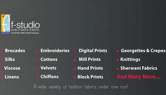 F Studio Fashion and Fabrics in Ahmedabad