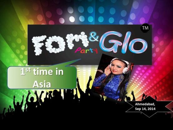 Foam and Glow Party Launch with DJ Leenata at Ahmedabad on September