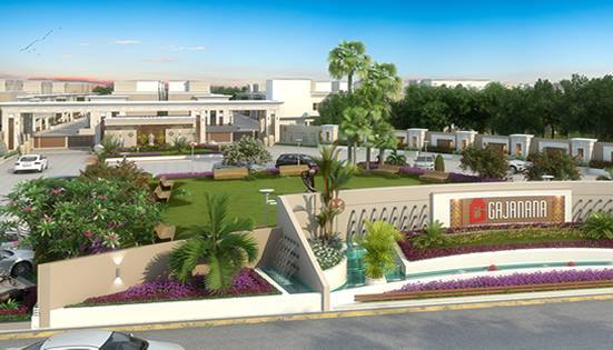 Gajanana in Vadodara 3 BHK Luxurious Bungalows at Kumetha Ajwa Road Vadodara