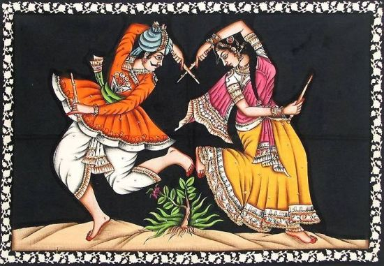Gokul Garba Classes at Satellite Ahmedabad