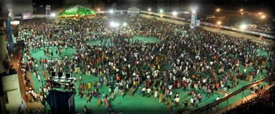 Patel Yuva Group Presents JAY SARDAR Navrati Mahotsav 2014 at 150 Ft Ring Road Rajkot