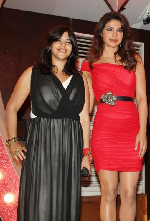 Priyanka Chopra and Ekta Kapoor Hot Photos 2014