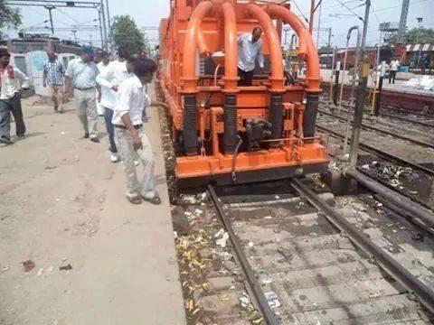 Railway Track Cleaning Machine