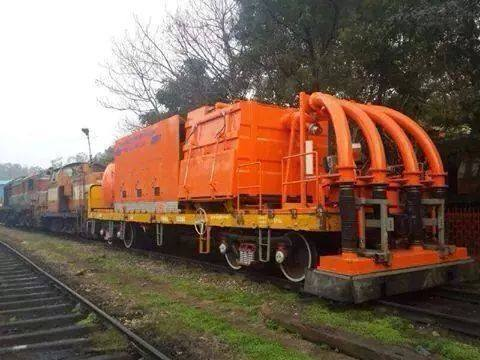 Railway Track Cleaning Machine launched by Northern Railway Division