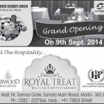 Royal Treat Morbi – Multi Cuisine Restaurant in Morbi by Starwood Catering Services