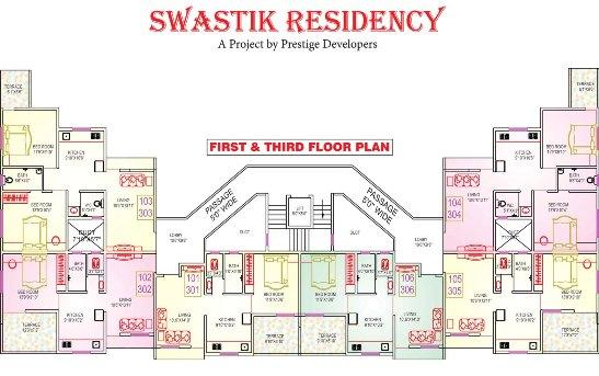 Swastik Residency in Vadodara